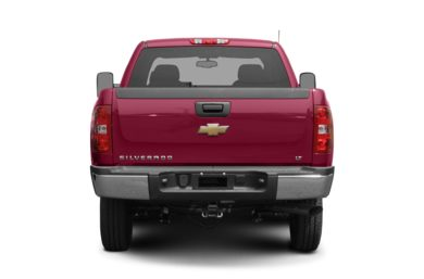 Rear Profile  2007 Chevrolet Silverado 2500HD