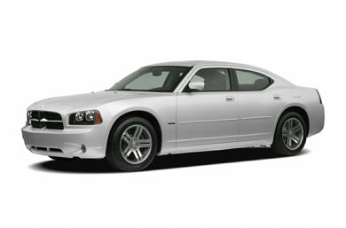 3/4 Front Glamour 2007 Dodge Charger