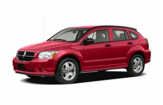 3/4 Front Glamour 2007 Dodge Caliber