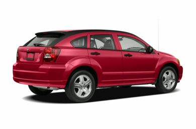 3/4 Rear Glamour  2007 Dodge Caliber