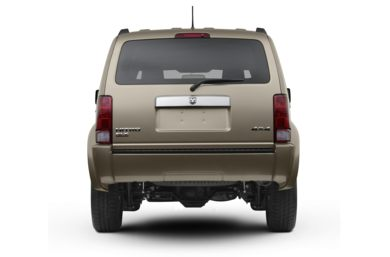 Rear Profile  2007 Dodge Nitro