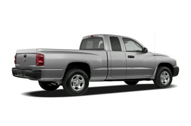 3/4 Rear Glamour  2007 Dodge Dakota