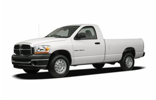 3/4 Front Glamour 2007 Dodge Ram 1500