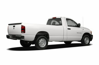 3/4 Rear Glamour  2007 Dodge Ram 1500