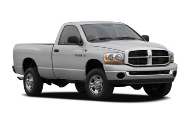 3/4 Front Glamour 2007 Dodge Ram 3500