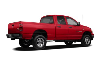 3/4 Rear Glamour  2007 Dodge Ram 2500