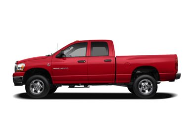 90 Degree Profile 2007 Dodge Ram 2500