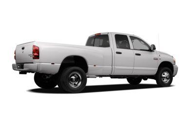 3/4 Rear Glamour  2007 Dodge Ram 3500