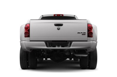 Rear Profile  2007 Dodge Ram 3500