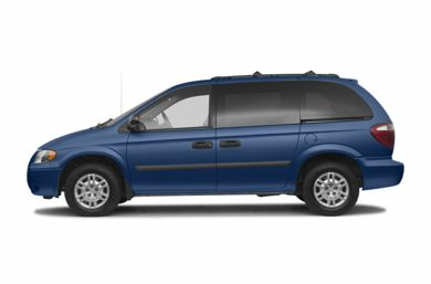 90 Degree Profile 2007 Dodge Caravan