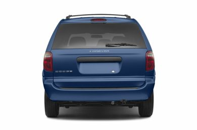 Rear Profile  2007 Dodge Caravan