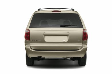 Rear Profile  2007 Dodge Grand Caravan