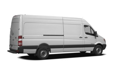 3/4 Rear Glamour  2007 Dodge Sprinter Van 2500