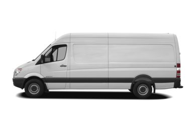 90 Degree Profile 2007 Dodge Sprinter Van 2500