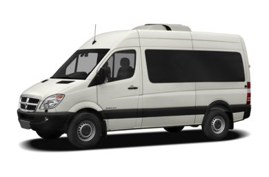 3/4 Front Glamour 2007 Dodge Sprinter Wagon 2500