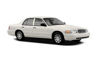 3/4 Front Glamour 2007 Ford Crown Victoria