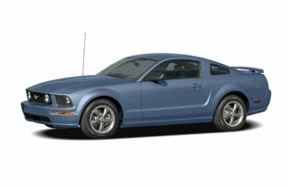 3/4 Front Glamour 2007 Ford Mustang