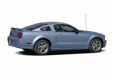 3/4 Rear Glamour  2007 Ford Mustang