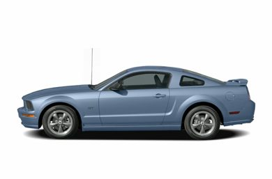 90 Degree Profile 2007 Ford Mustang