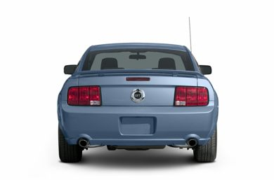 Rear Profile  2007 Ford Mustang
