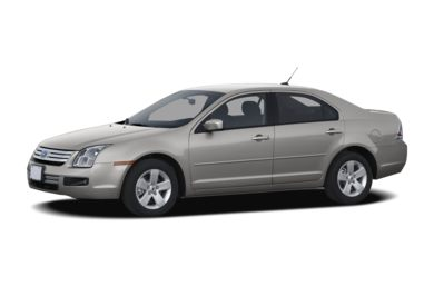 3/4 Front Glamour 2007 Ford Fusion