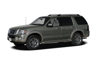 3/4 Front Glamour 2007 Ford Explorer