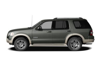 90 Degree Profile 2007 Ford Explorer
