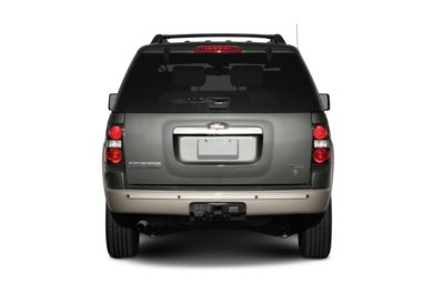 Rear Profile  2007 Ford Explorer