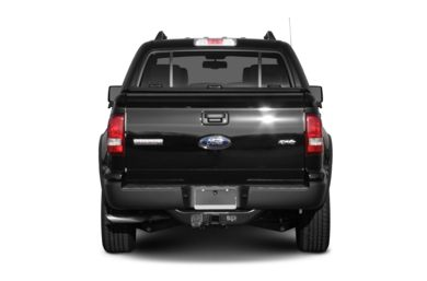 Rear Profile  2007 Ford Explorer Sport Trac
