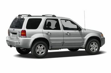 3/4 Rear Glamour  2007 Ford Escape
