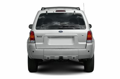 Rear Profile  2007 Ford Escape