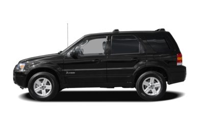 90 Degree Profile 2007 Ford Escape Hybrid