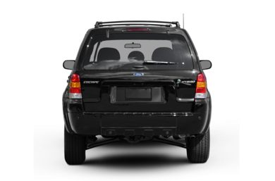 Rear Profile  2007 Ford Escape Hybrid