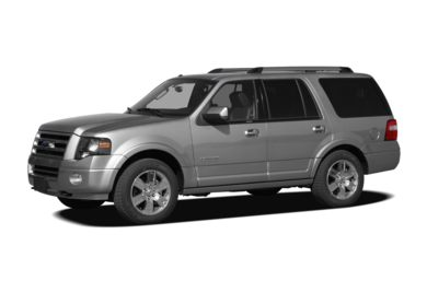 3/4 Front Glamour 2007 Ford Expedition