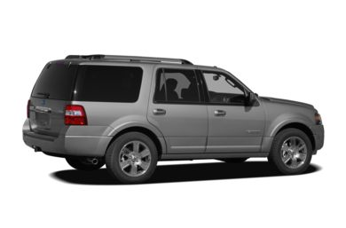 3/4 Rear Glamour  2007 Ford Expedition