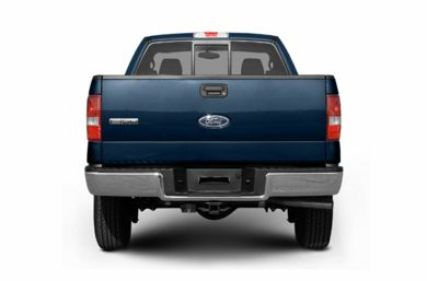 Rear Profile  2007 Ford F-150