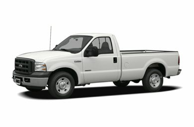 3/4 Front Glamour 2007 Ford F-250
