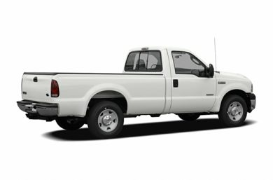 3/4 Rear Glamour  2007 Ford F-350