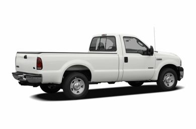 3/4 Rear Glamour  2007 Ford F-250