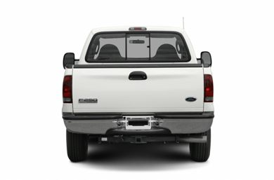 Rear Profile  2007 Ford F-250