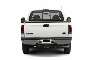 Rear Profile  2007 Ford F-350