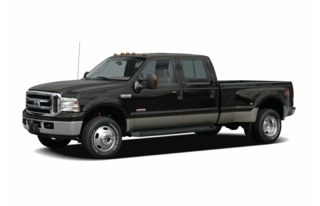 3/4 Front Glamour 2007 Ford F-350