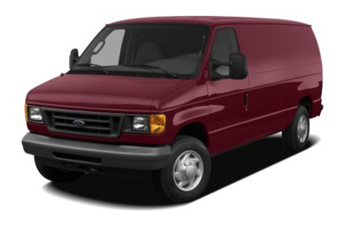 3/4 Front Glamour 2007 Ford E-350 Super Duty