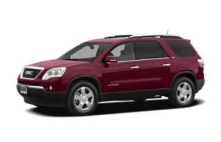 3/4 Front Glamour 2007 GMC Acadia