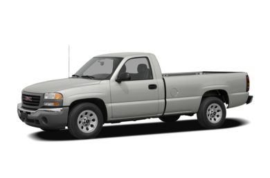 3/4 Front Glamour 2007 GMC Sierra 1500 Classic