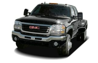 3/4 Front Glamour 2007 GMC Sierra 3500 Classic