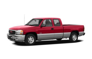 3/4 Front Glamour 2007 GMC Sierra 1500 Hybrid Classic