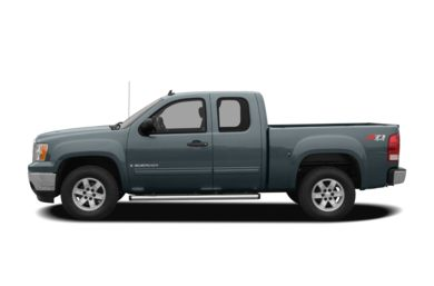 90 Degree Profile 2007 GMC Sierra 1500