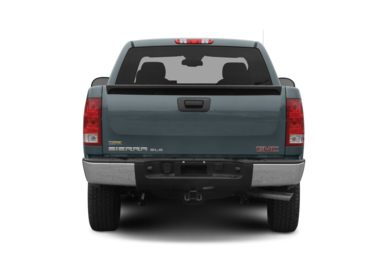 Rear Profile  2007 GMC Sierra 1500