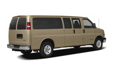 3/4 Rear Glamour  2007 GMC Savana